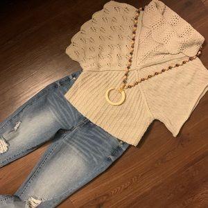 💕Anthropologie Sleeping On Snow Sweater 💕